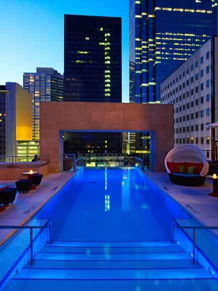 Hotel Joule, USA rooftop pools