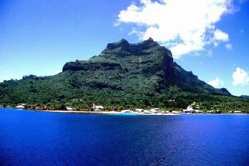 Vaitape, Bora Bora, French Polynesia