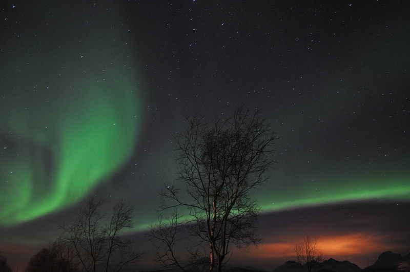 Scotland northern light