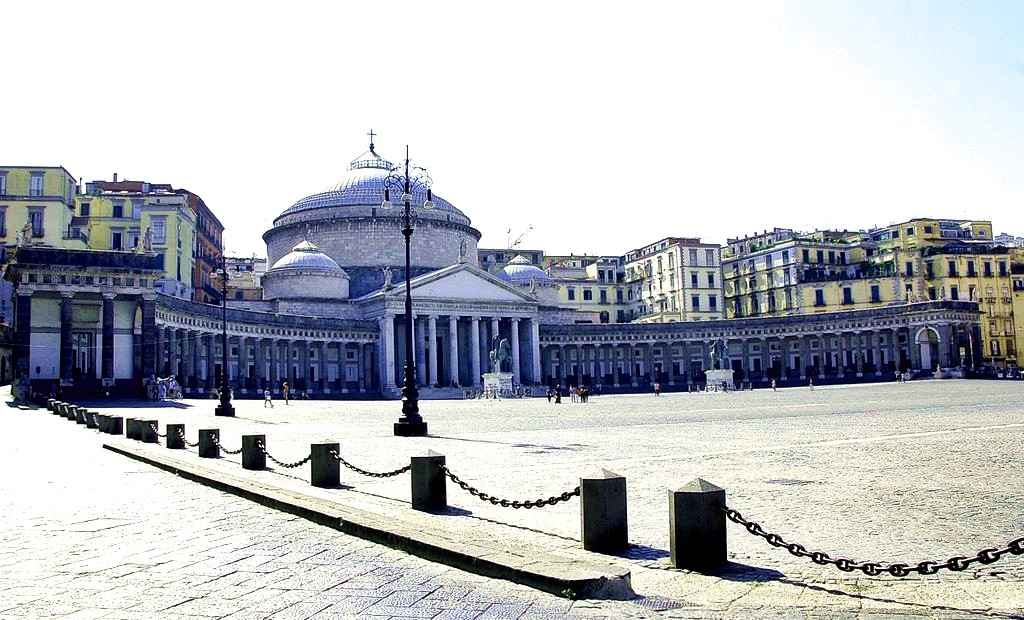 Pizzas and the Palace - Naples