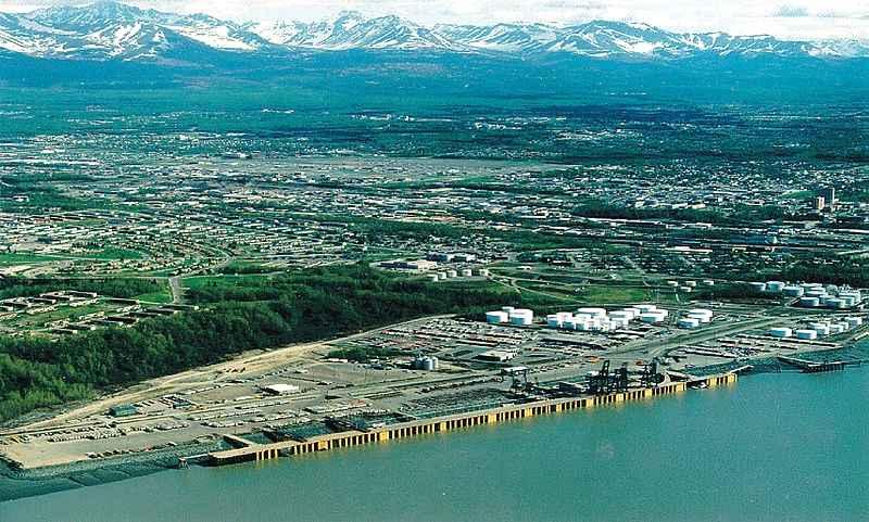Anchorage to Valdez, Alaska