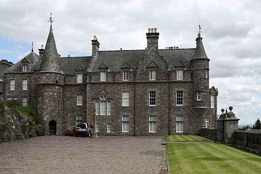 Drummond castle edit