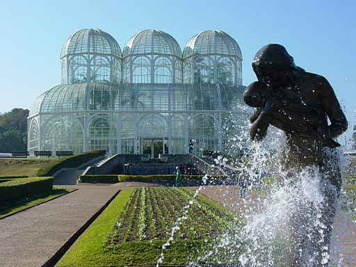 Sculpture in Botanical Gardens - Curitiba - Brazil
