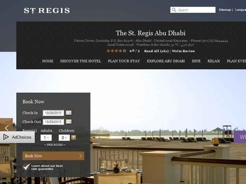 The St. Regis Abu Dhabi
