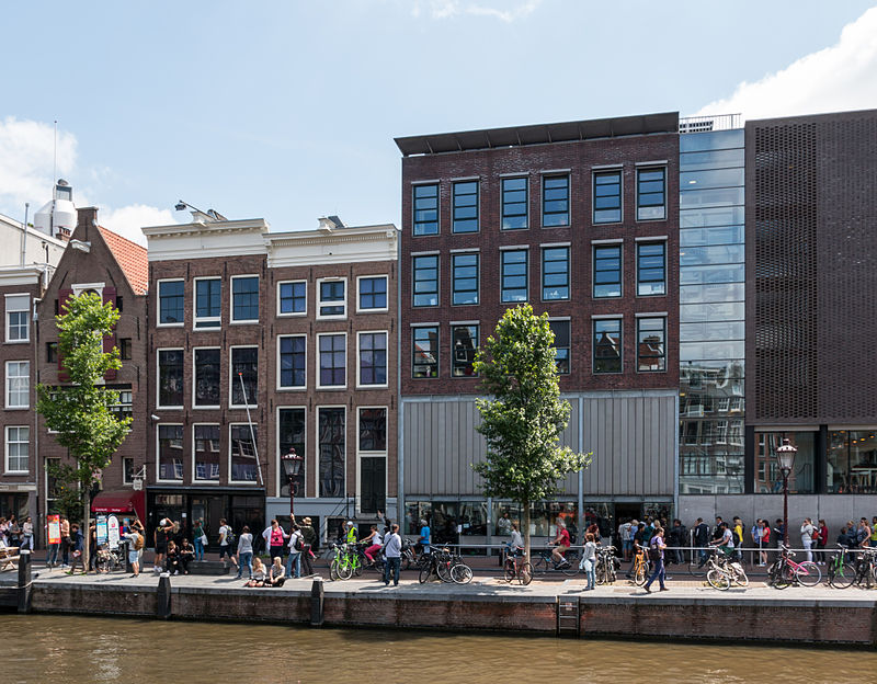 2. Anne Frank House - WWII teenage diarist's house museum