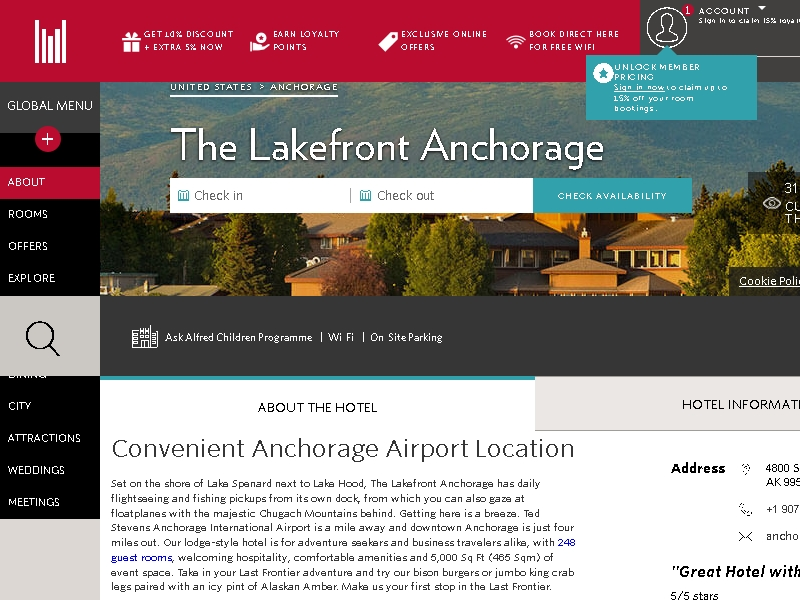 The Lakefront  Anchorage