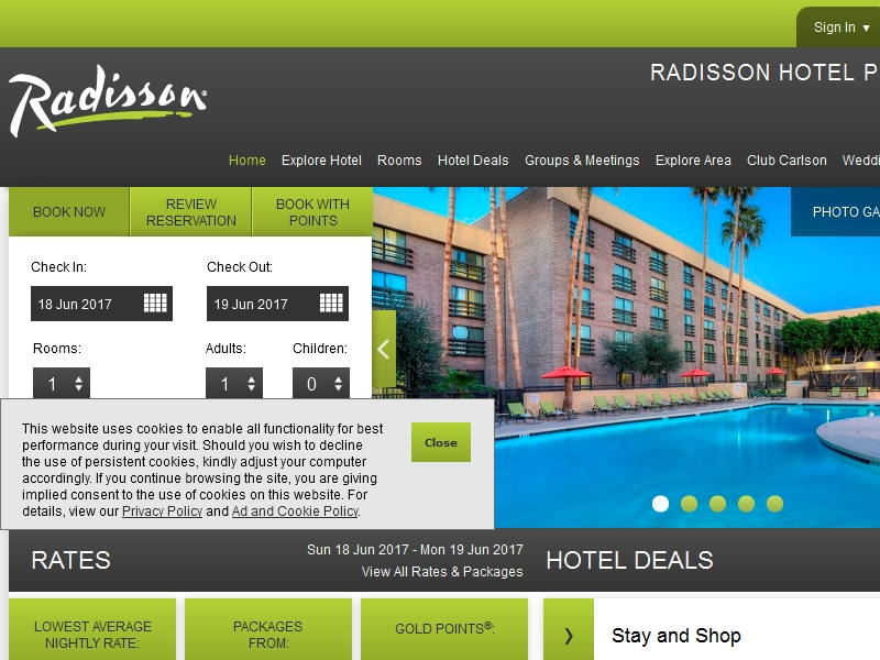 Radisson Hotel  Phoenix North