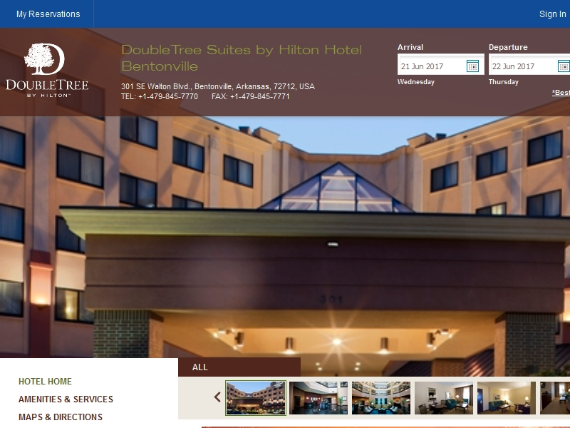 DoubleTree Suites by  Hilton Hotel Bentonville