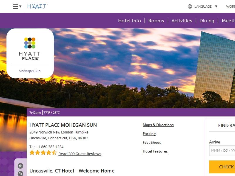 Hyatt Place Mohegan  Sun