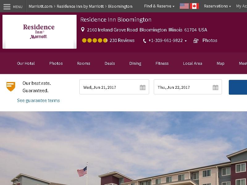Residence Inn by  Marriott Bloomington