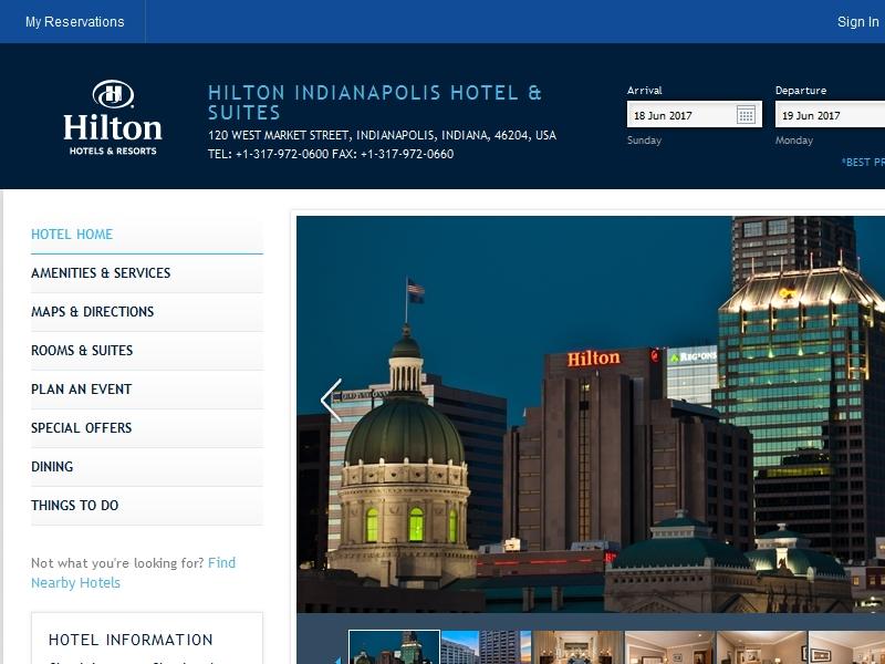 The Hilton Hotel &  Suites