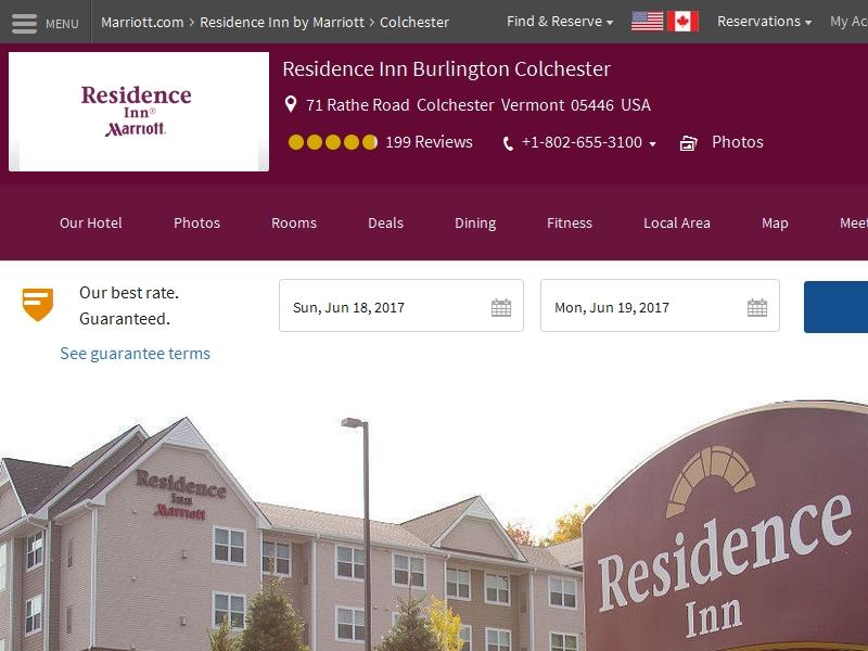 Residence Inn by  Marriott Burlington Colchester