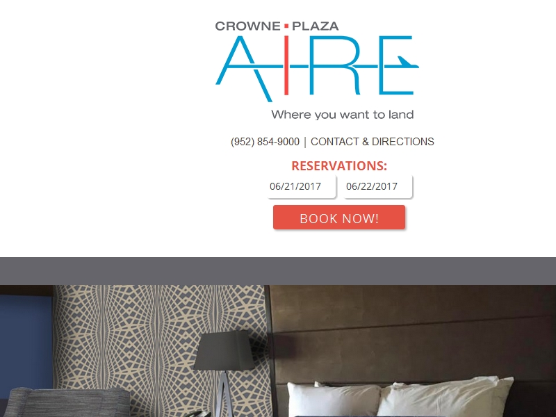 Crowne Plaza Aire  MSP Airport - Mall of America