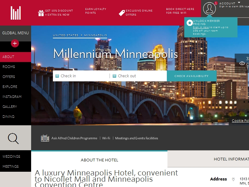 Millennium  Minneapolis