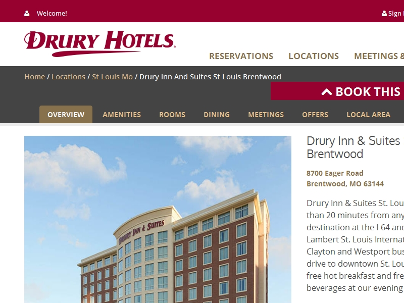Drury Plaza Hotel St.  Louis Chesterfield