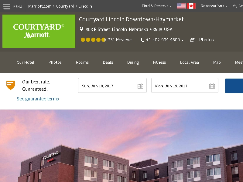 Courtyard by Marriott  Lincoln Downtown/Haymarket