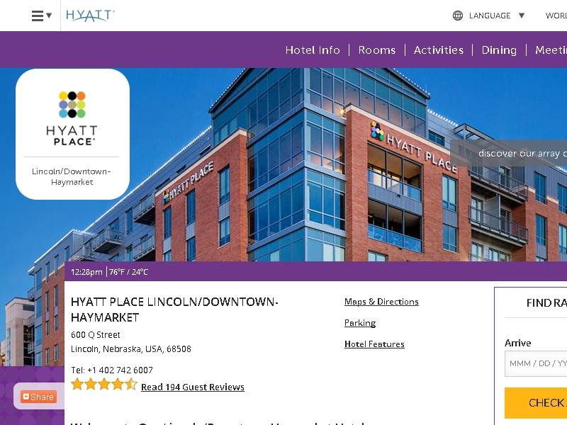 Hyatt Place Lincoln/ Downtown-Haymarket