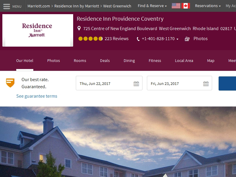 Residence Inn by  Marriott Providence Coventry