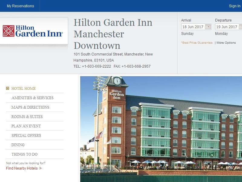 Hilton Garden Inn  Manchester Downtown