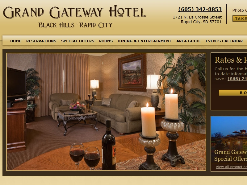 Grand Gateway Hotel  Rapid City