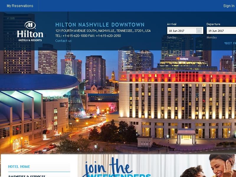 Hilton Nashville  Downtown