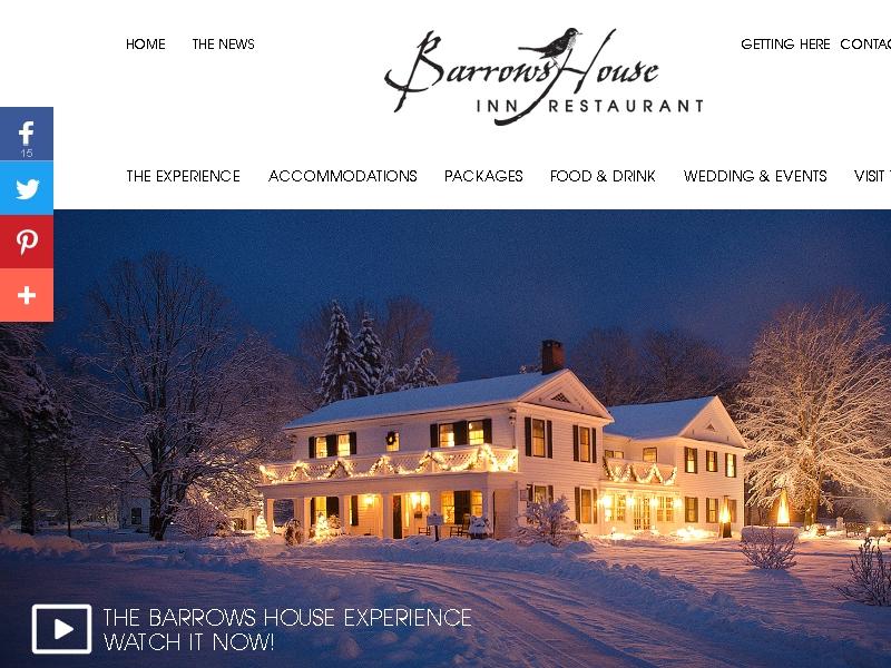 Barrows House Inn &  Restaurant