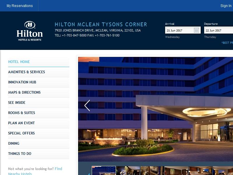 Hilton McLean Tysons  Corner