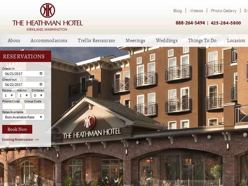The Heathman Hotel  Kirkland