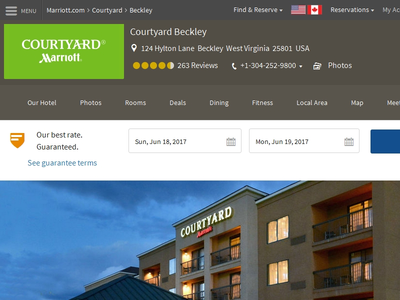 Courtyard by Marriott  Beckley