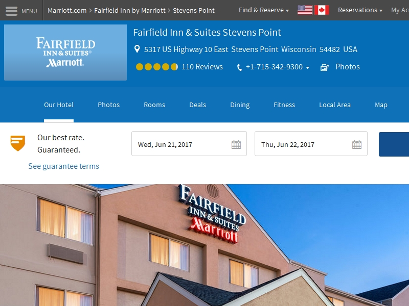 Fairfield Inn & Suites  by Marriott Stevens Point