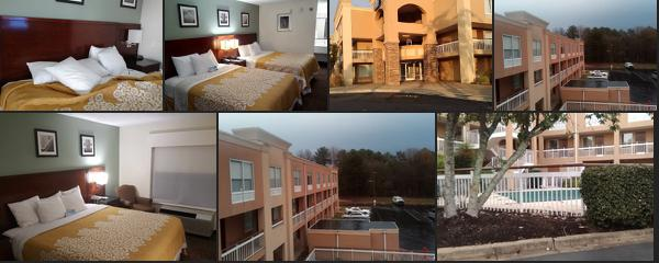 The best 10 Superb budget hotels near to Greenville South Carolina