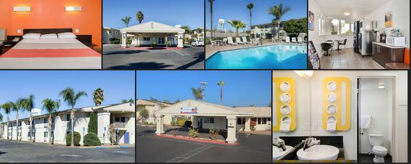 Motel 6 Merced CA