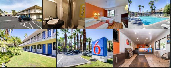 Motel 6 Palm Springs East - East Palm Canyon