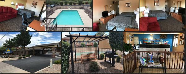 Top rated 7 Awesome budget hotels near to Sierra Vista Arizona