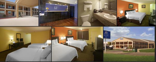 The best 10 High quality budget hotels near to Waco Texas