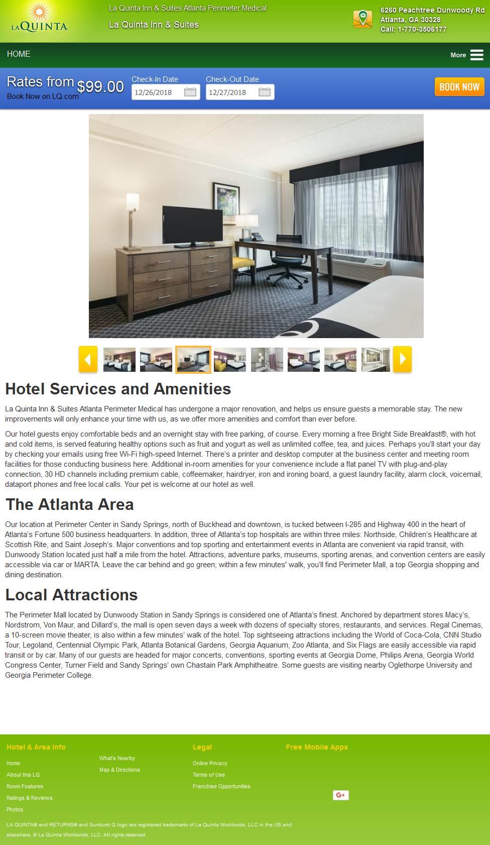 La Quinta Inn & Suites Atlanta Perimeter Medical