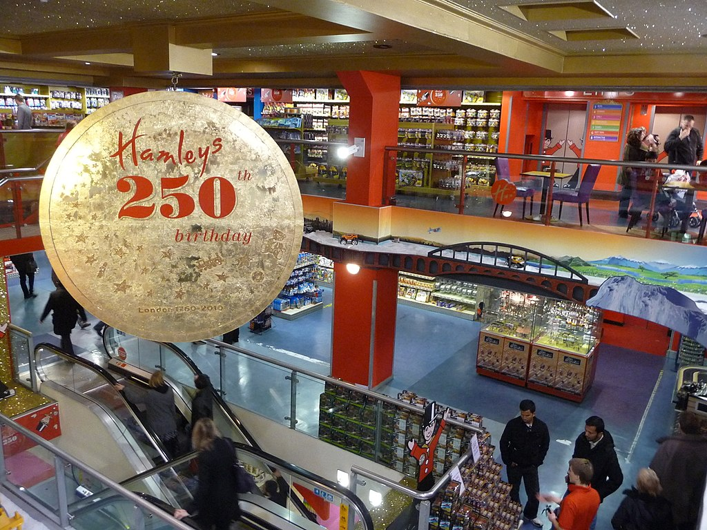1. Hamley's, London (England)