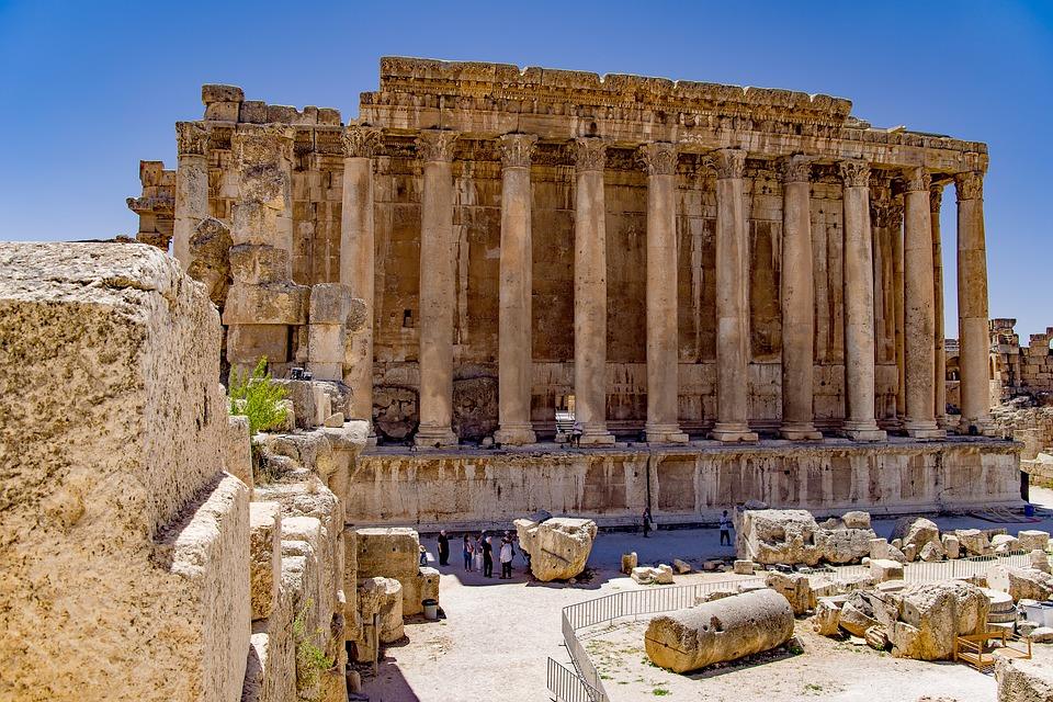 10. Baalbek Temple, Baalbek (Lebanon)