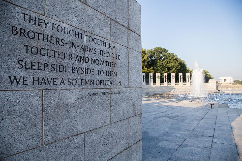 10. World War II National Memorial - Washington DC, USA