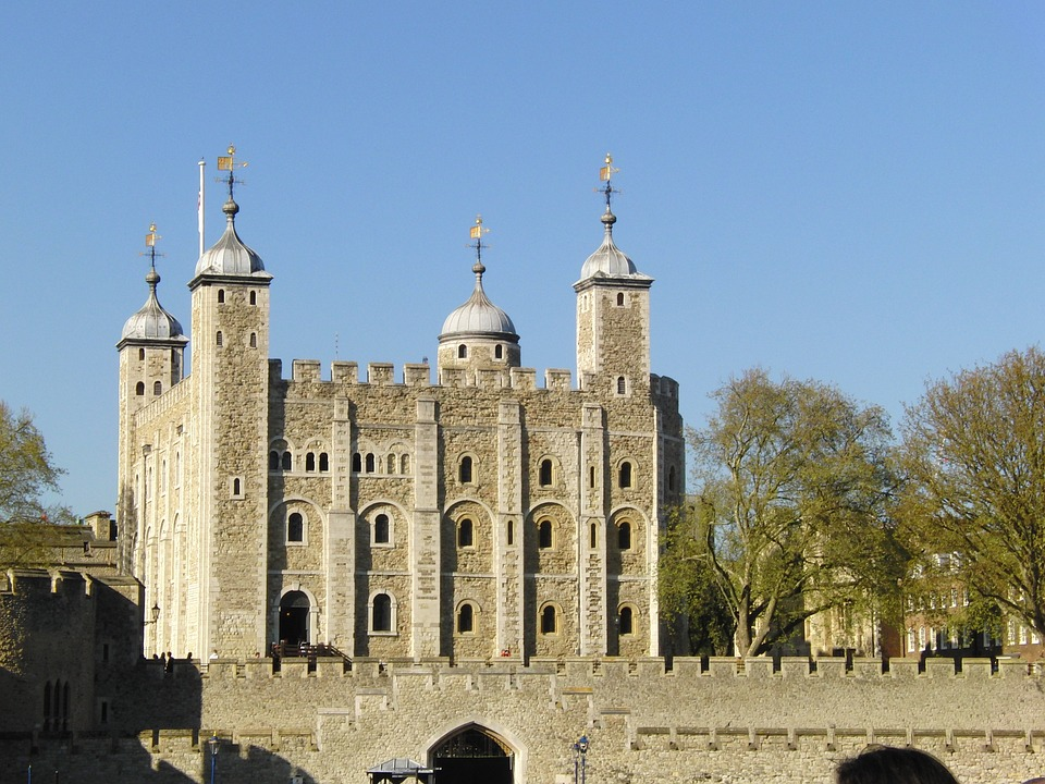 11. Tower of London, London (England)