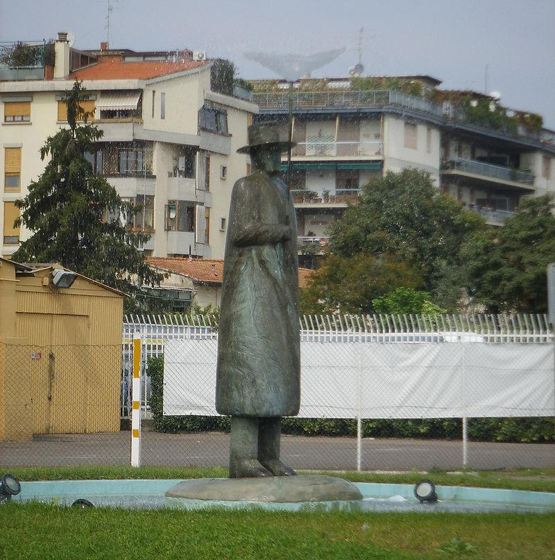 12. The Rain Man - Florence, Italy