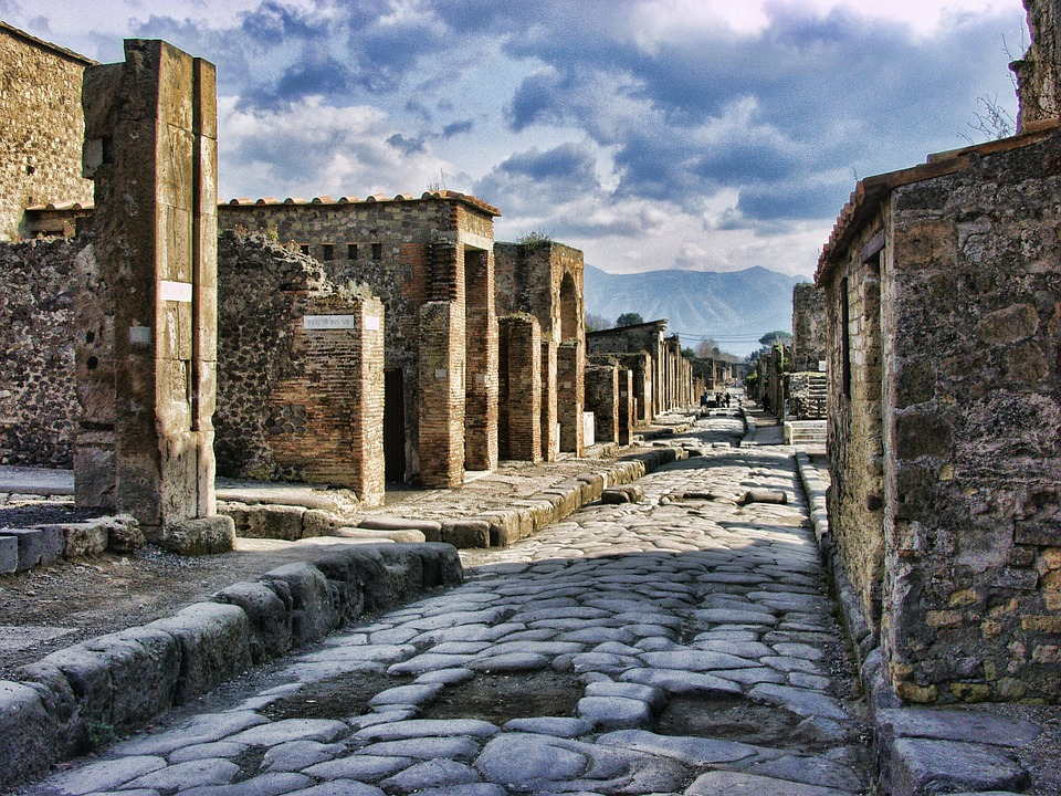 16. Pompeii - Naples, Italy