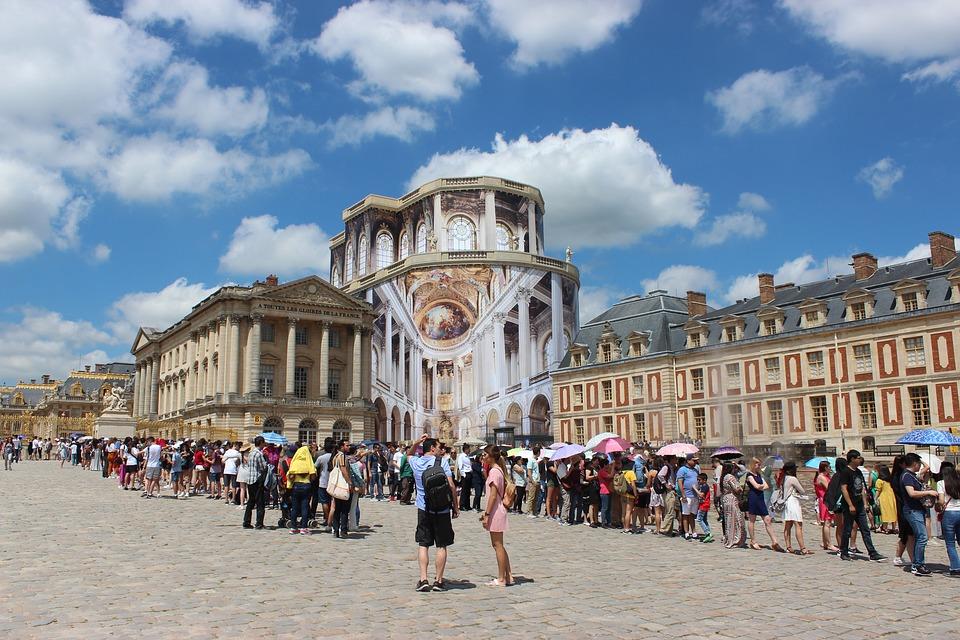 2. Palace of Versailles - Versailles, Paris