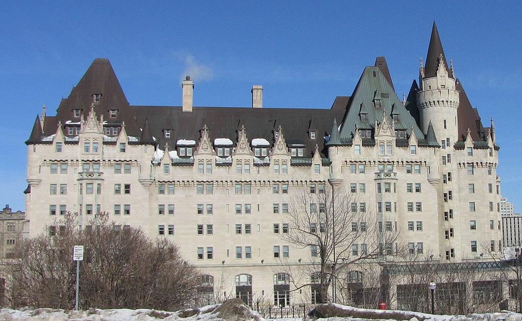 3. Fairmont Chateau Laurier - Ottawa, Canada