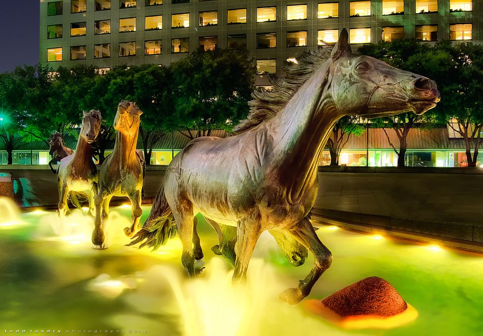 3. The Mustangs Of Las Colinas - Texas, USA