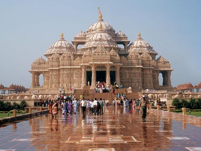 4. Akshardham Temple, New Delhi (India)