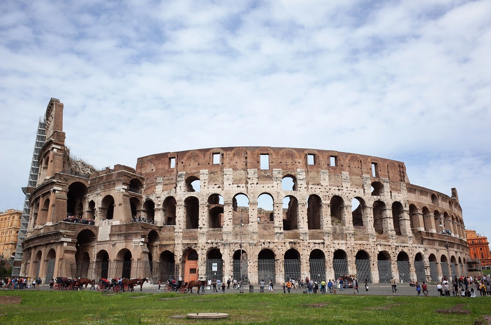 4. Colosseum - Rome, Italy