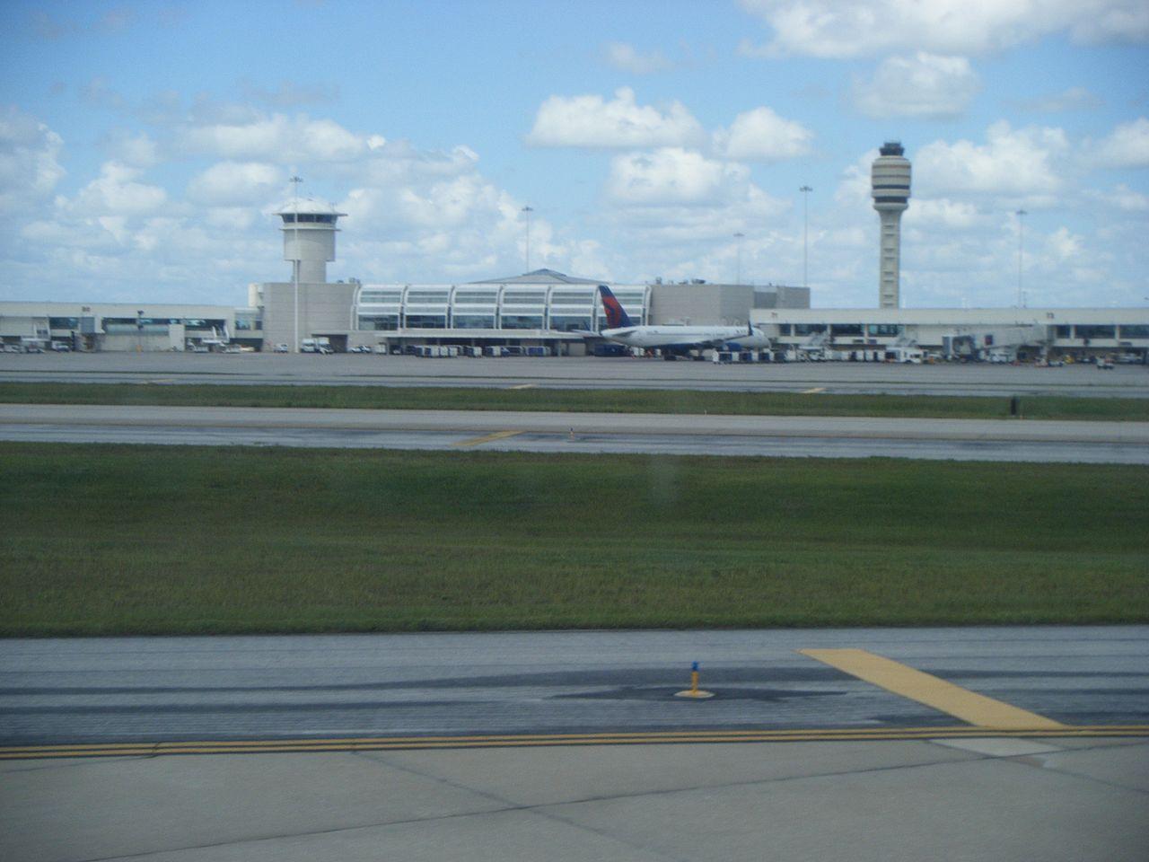 4. Orlando International Airport, Orlando - 53.83 sq km