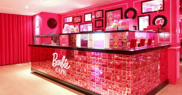 5. Barbie Cafe, Taiwan
