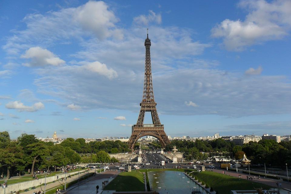 7. Eiffel Tower - Paris, France